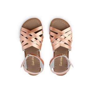 salt-water sandal - rose gold - maison odette