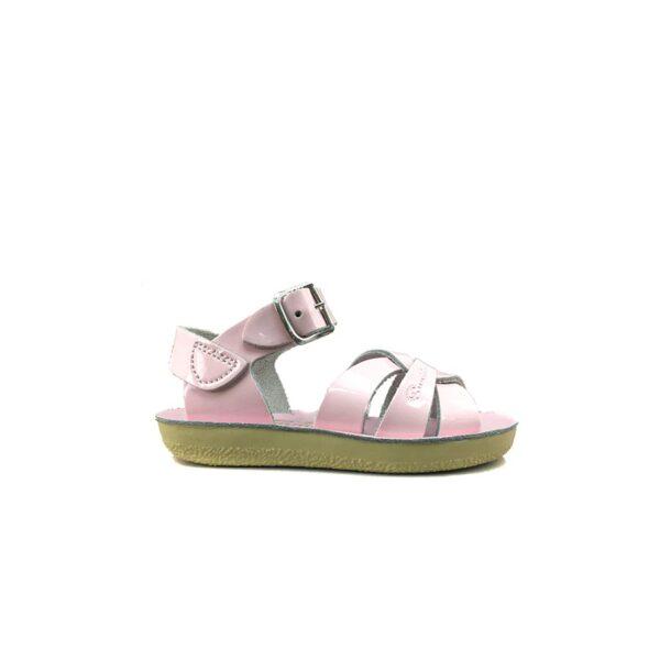 salt-water sandal - swimmer pink - maison odette